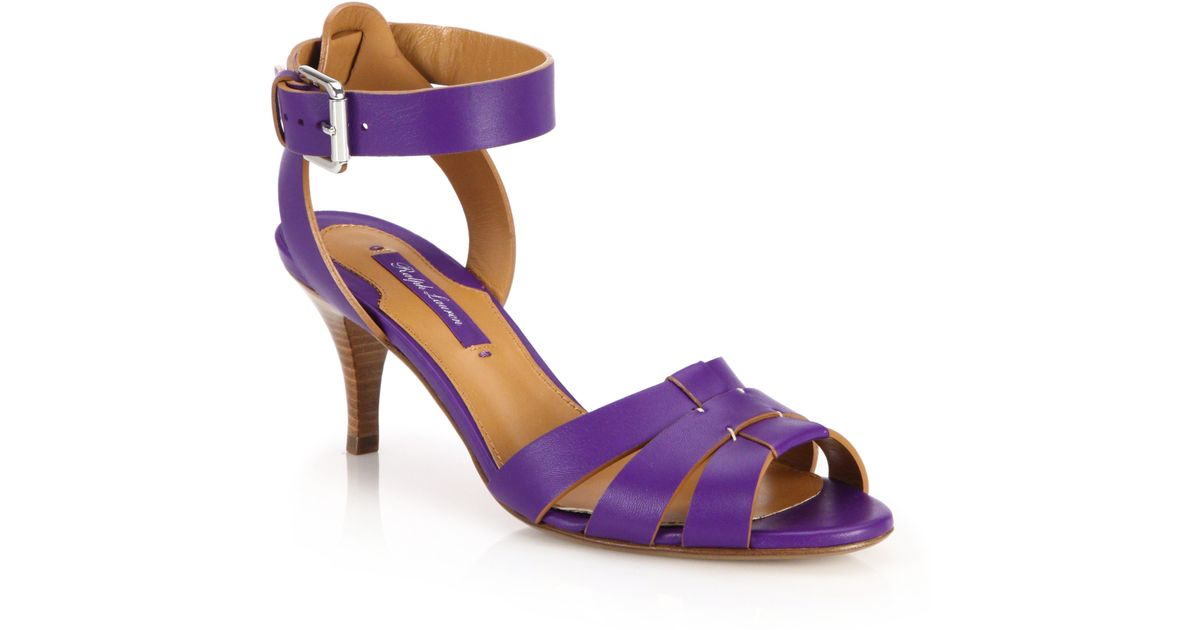 Purple Ankle Strap with FREE Shipping & Exchanges, and a % price guarantee. Choose from a huge selection of Purple Ankle Strap styles.