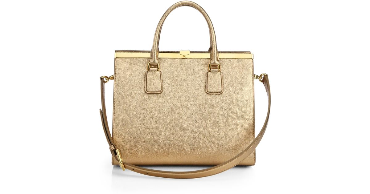 Dolce & Gabbana Gold Shoulder Bag Cezxfoj