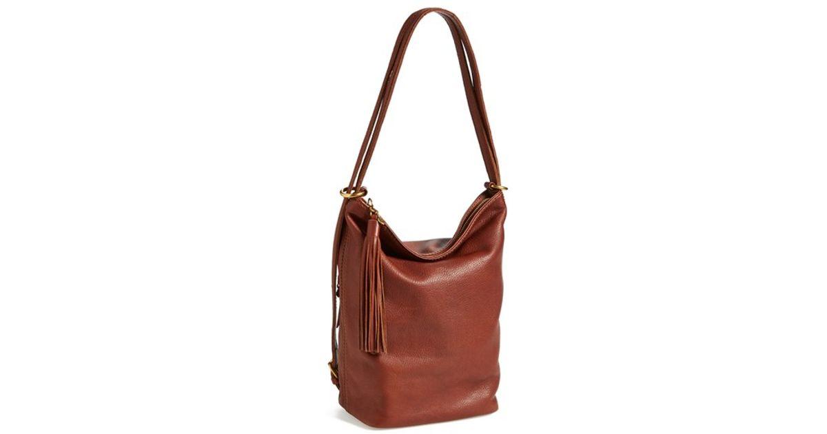 4d923f3d50 Image is loading HOBO-Shoulder-Bags-Supersoft-Blaze  -Convertible-Backpack-Black-