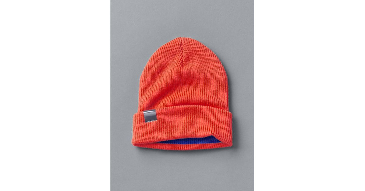 11d9c306379cf Lyst - Gap Ribbed Beanie in Orange for Men