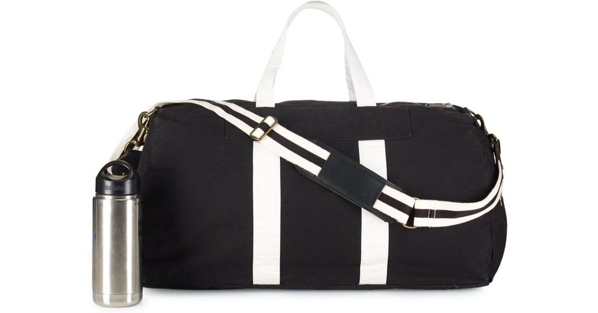 Lyst - Polo Ralph Lauren Canvas Boxing Duffel Bag in Black for Men 73018e05f8e2c