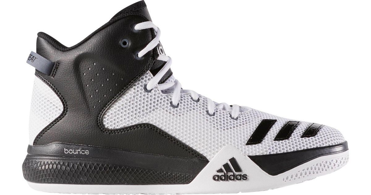 1f473ca07141 ... canada lyst adidas originals dual threat basketball shoes in white for  men 1bf51 c280f