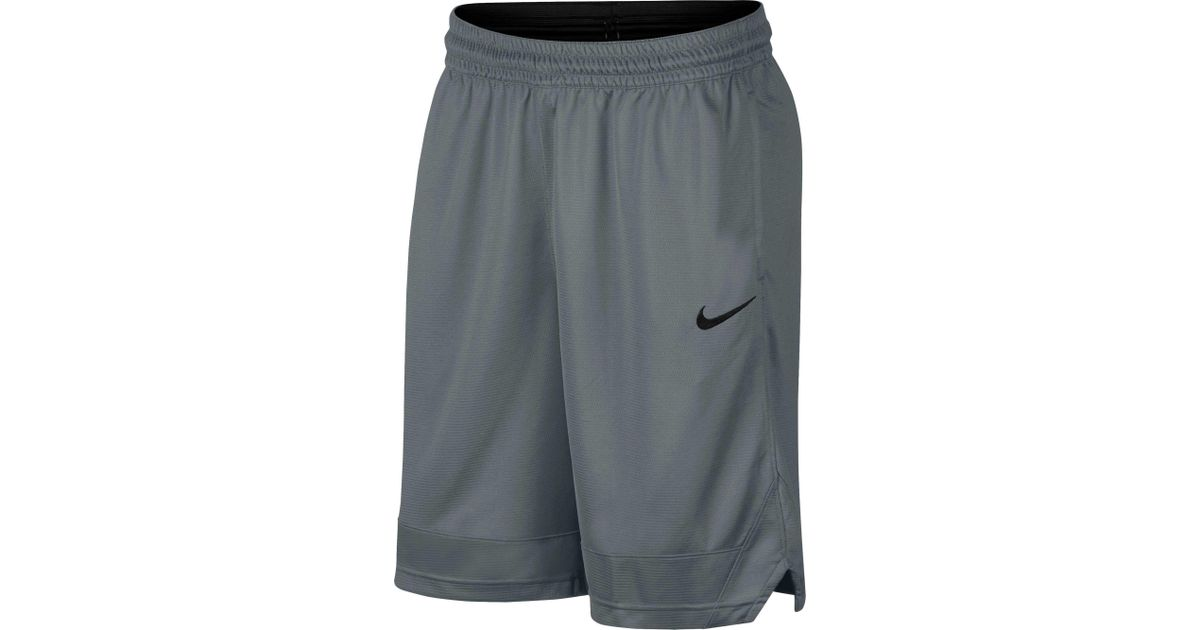 b6e9ed3c96a Lyst - Nike Dry Icon Basketball Shorts in Gray for Men
