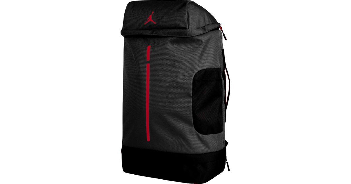 0372df5312c9fc Lyst - Nike Velocity Backpack in Black for Men