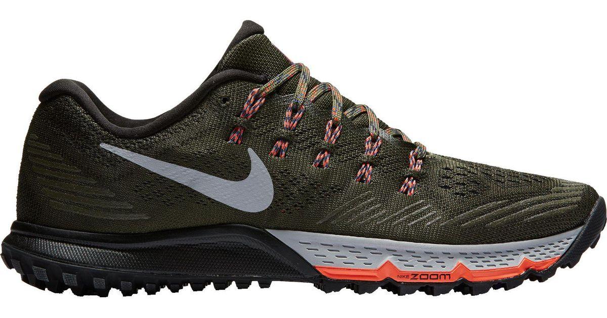 716d38d7732 Lyst - Nike Zoom Terra Kiger 3 Trail Running Shoes in Black for Men