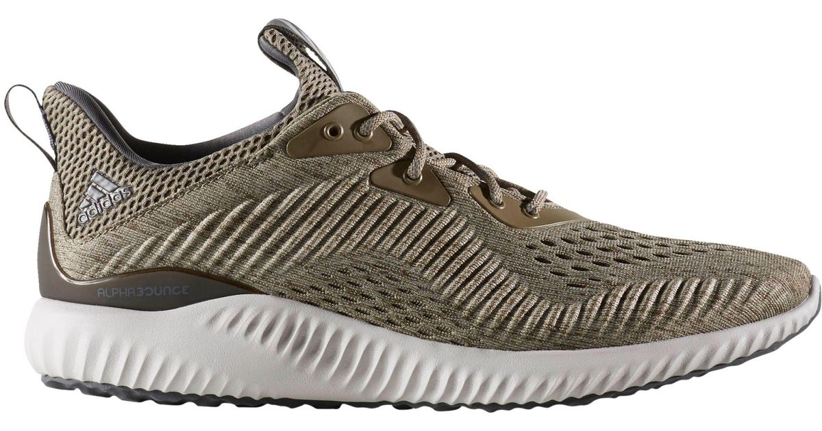 Lyst - Adidas Alpha Bounce Running Shoes in Gray for Men 9d61c37ef