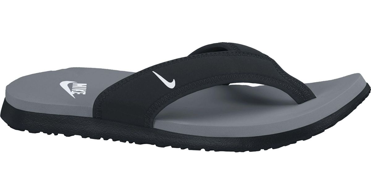 0c87b10bfe29 Lyst - Nike Celso Plus Flip Flops in Black for Men