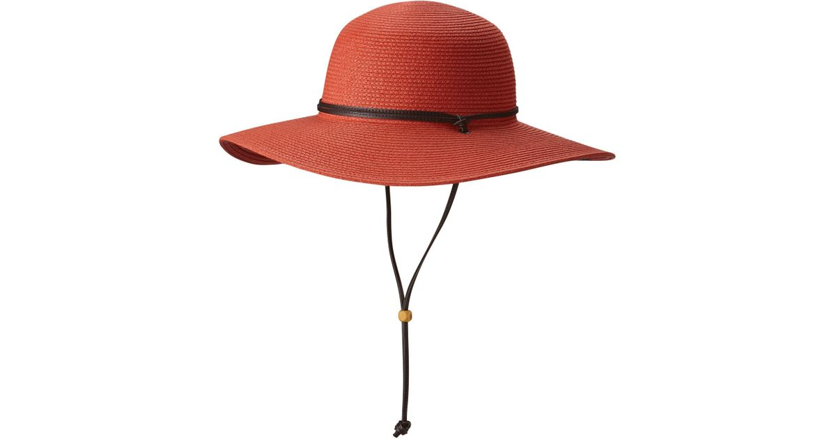 Lyst - Columbia Global Adventure Packable Hat in Red 965a4dc2ea9