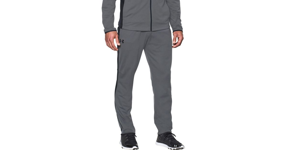 prevalent on feet images of terrific value Under Armour Black Maverick Tapered Pants for men