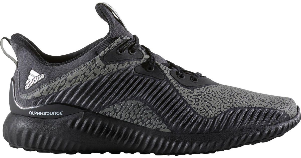 new styles 3a725 70bc4 Lyst - adidas Alphabounce Reflective Hpc Ams Running Shoes in Black for Men