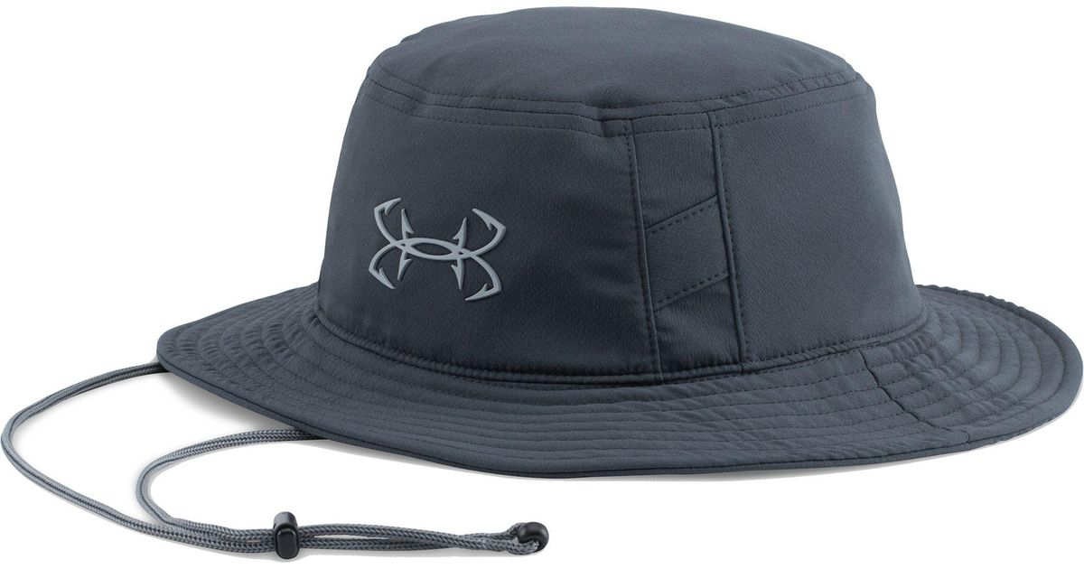 320f031f5f1 Lyst - Under Armour Fish Hook Bucket Hat in Blue for Men