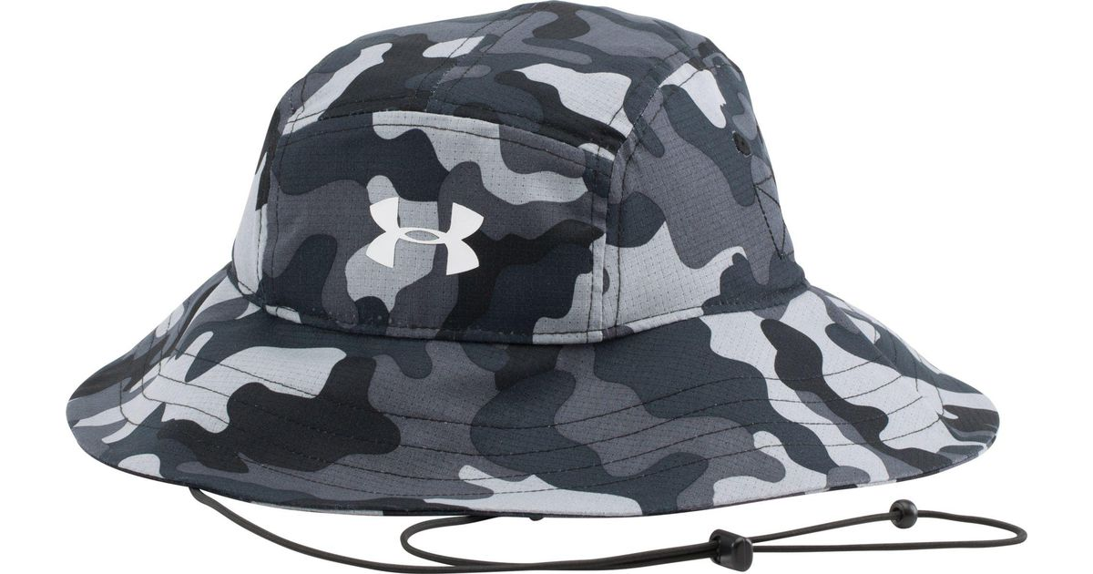 ... inexpensive lyst under armour ua airvent bucket hat in black for men  9883a 9ea43 ... d434dccabb8c