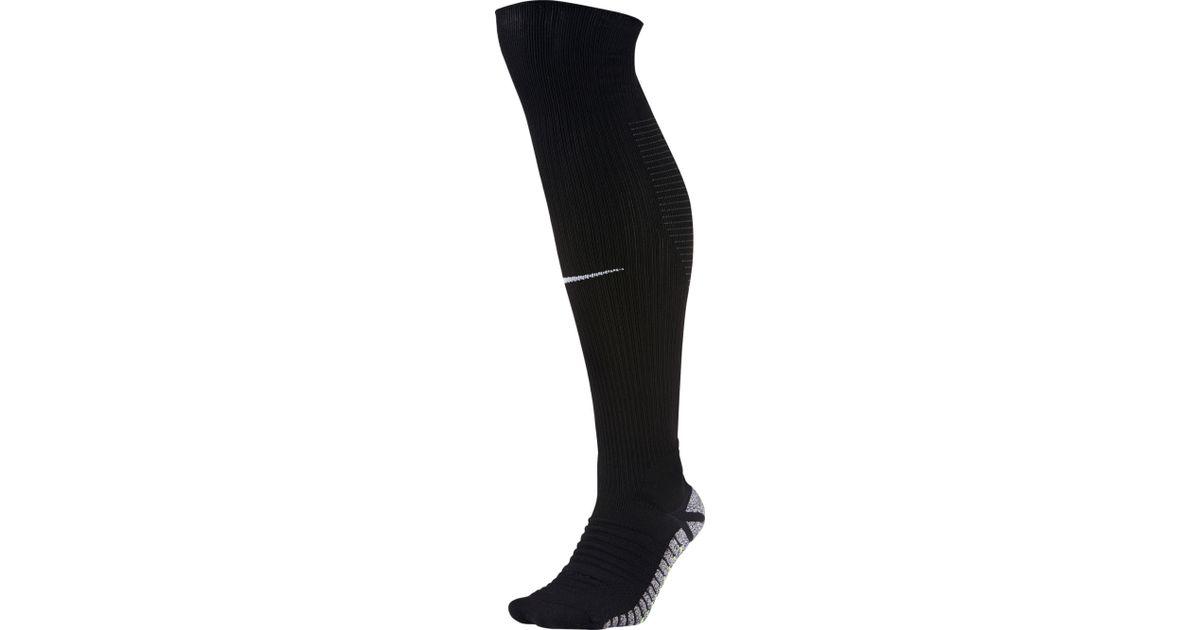 b9a46c2a1 Nike Grip Strike Cushioned Over-the-calf Soccer Socks in Black for Men -  Lyst