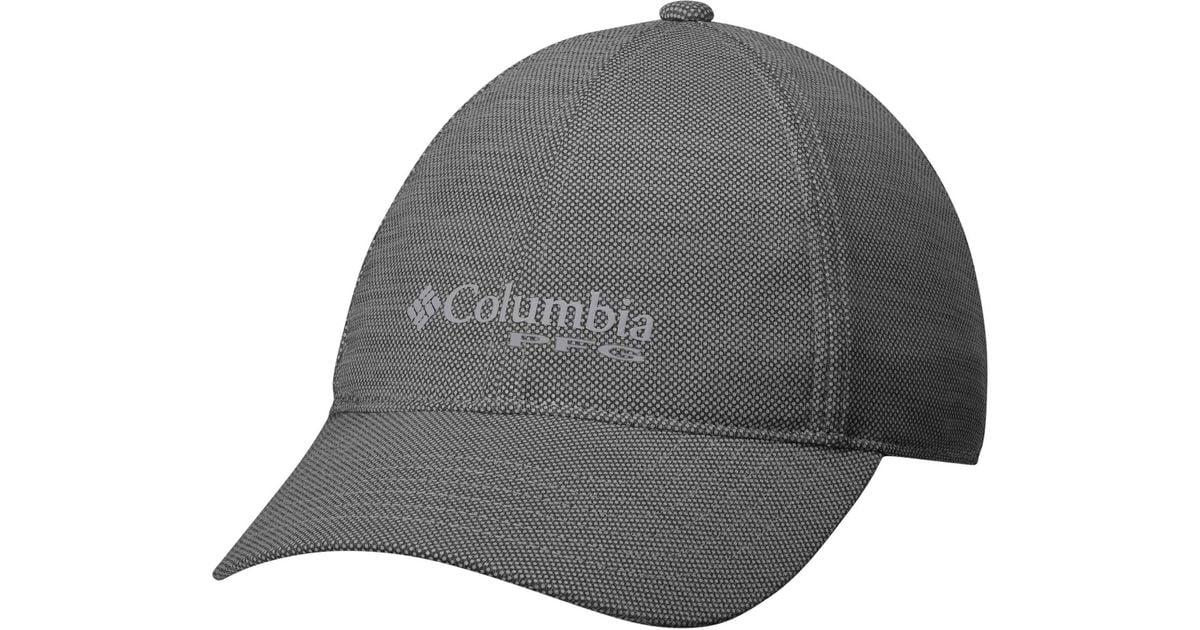 25bf58b4536c3 Columbia Solar Chill Pfg Hat in Black for Men - Lyst