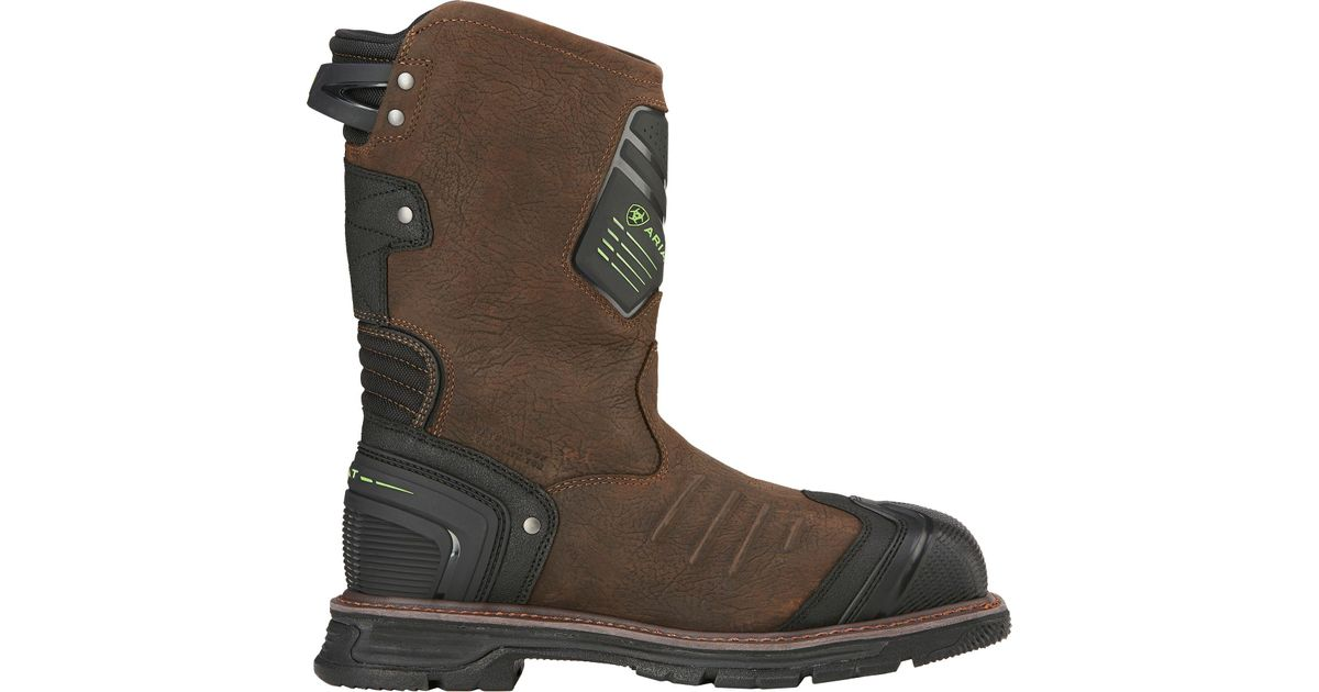 d0ae207efd7c Lyst - Ariat Catalyst Vx H2o Waterproof Composite Toe Work Boots in Brown  for Men