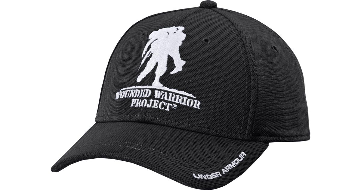 Lyst - Under Armour Wounded Warrior Project Snapback Hat in Black for Men d4271ba5759