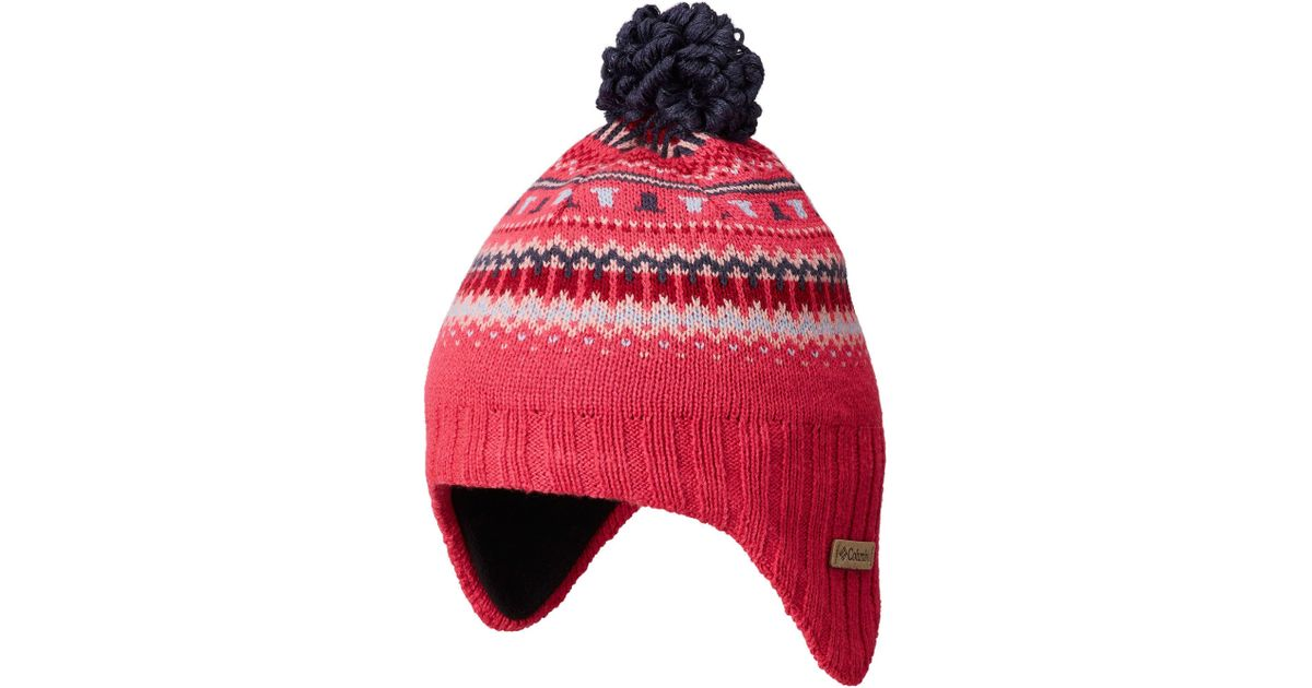 cccdaf57ee3225 Columbia Youth Winter Worn Ii Peruvian Hat - Lyst