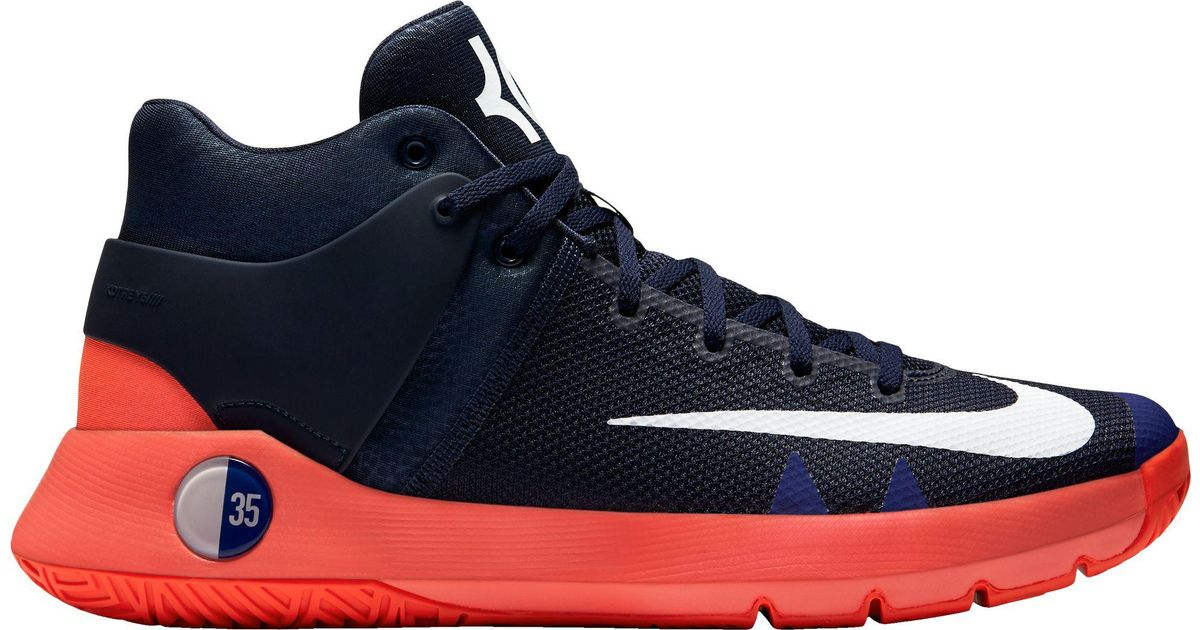 170f81ea94be ... closeout lyst nike kd trey 5 iv basketball shoes in blue for men e0bfb  a64eb