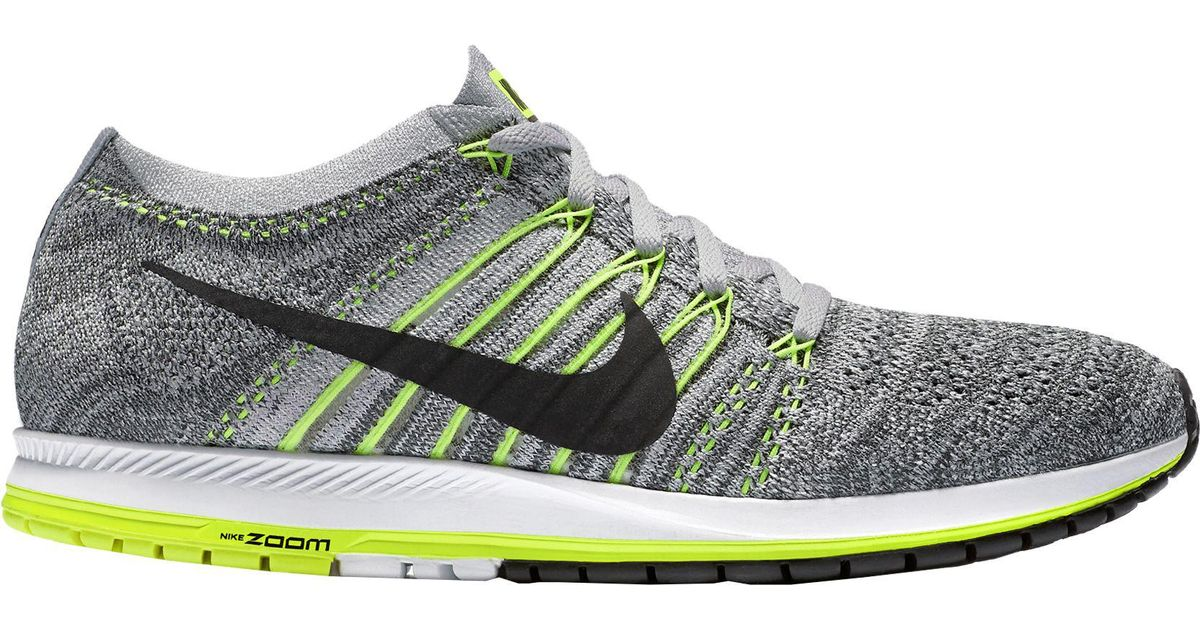 3e57123984f1 Lyst - Nike Air Zoom Flyknit Streak 6 Running Shoes in Gray for Men