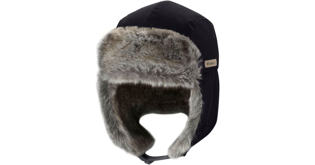 Lyst - Columbia Noble Falls Ii Trapper Hat in Black for Men 7308a88f668