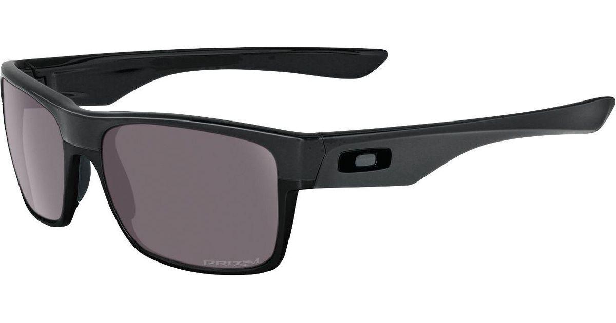 27bf45477e Lyst - Oakley Prizm Daily Polarized Twoface Covert Sunglasses in Black for  Men