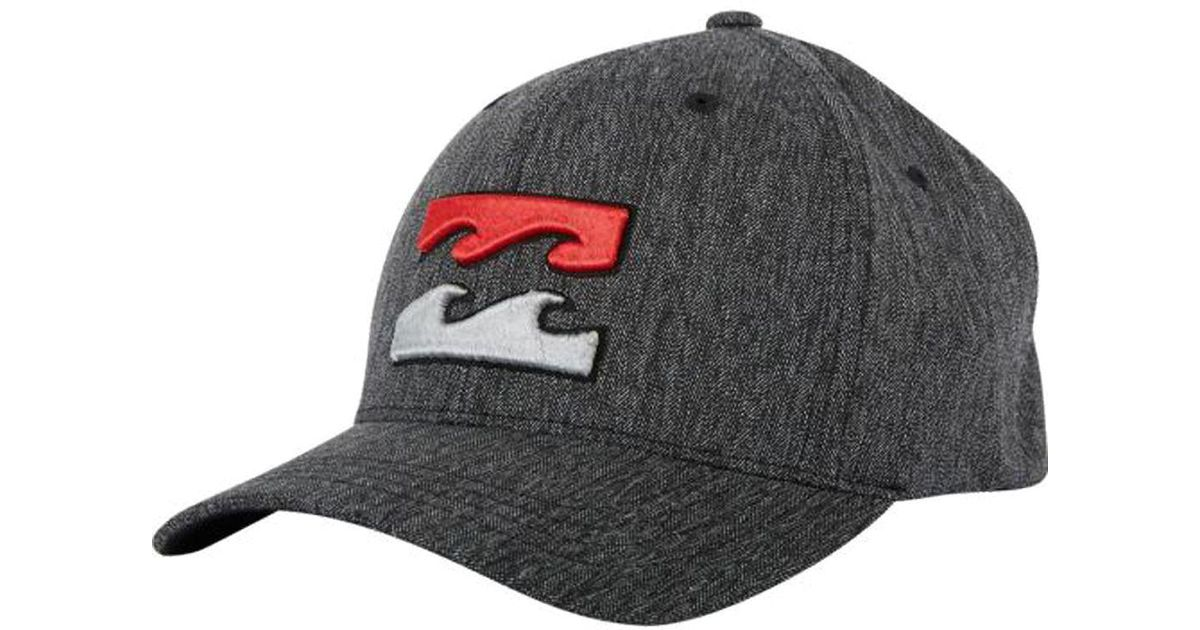 info for b0f1d b1ef3 ... low cost lyst billabong all day flexfit hat in gray for men 9468d a3e4e