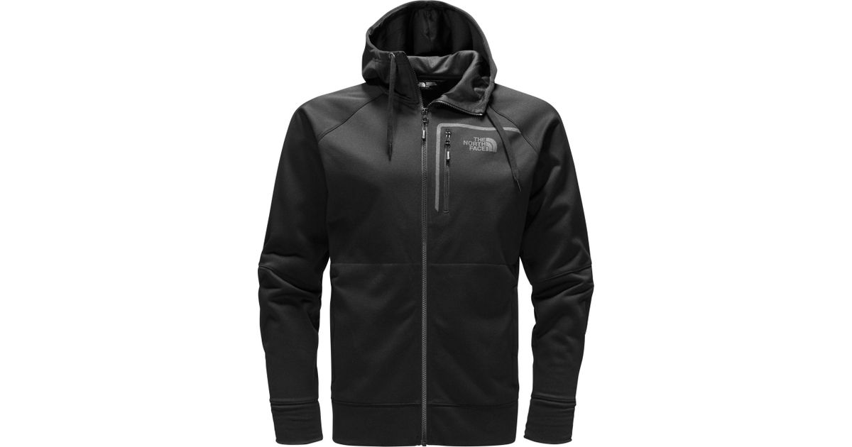 4270872665a3 Lyst - The North Face Mack Eaze Full Zip Hoodie in Black for Men