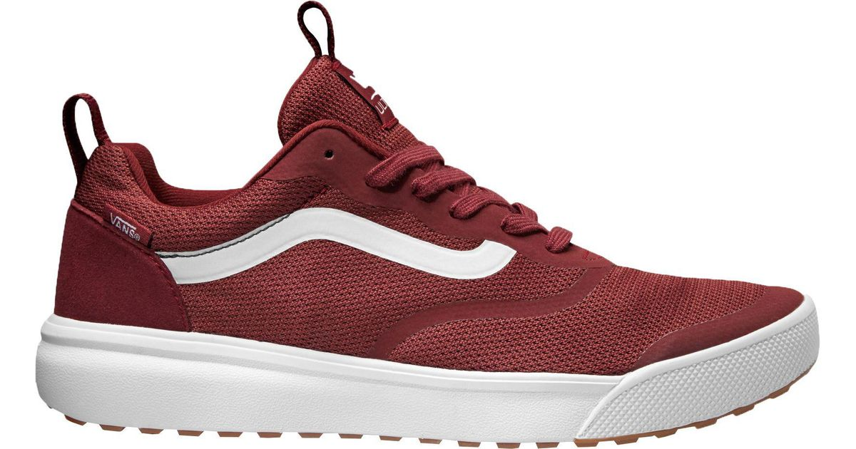 5bdfb36dad9848 Lyst - Vans Ultrarange Rapidweld Shoes in Red for Men