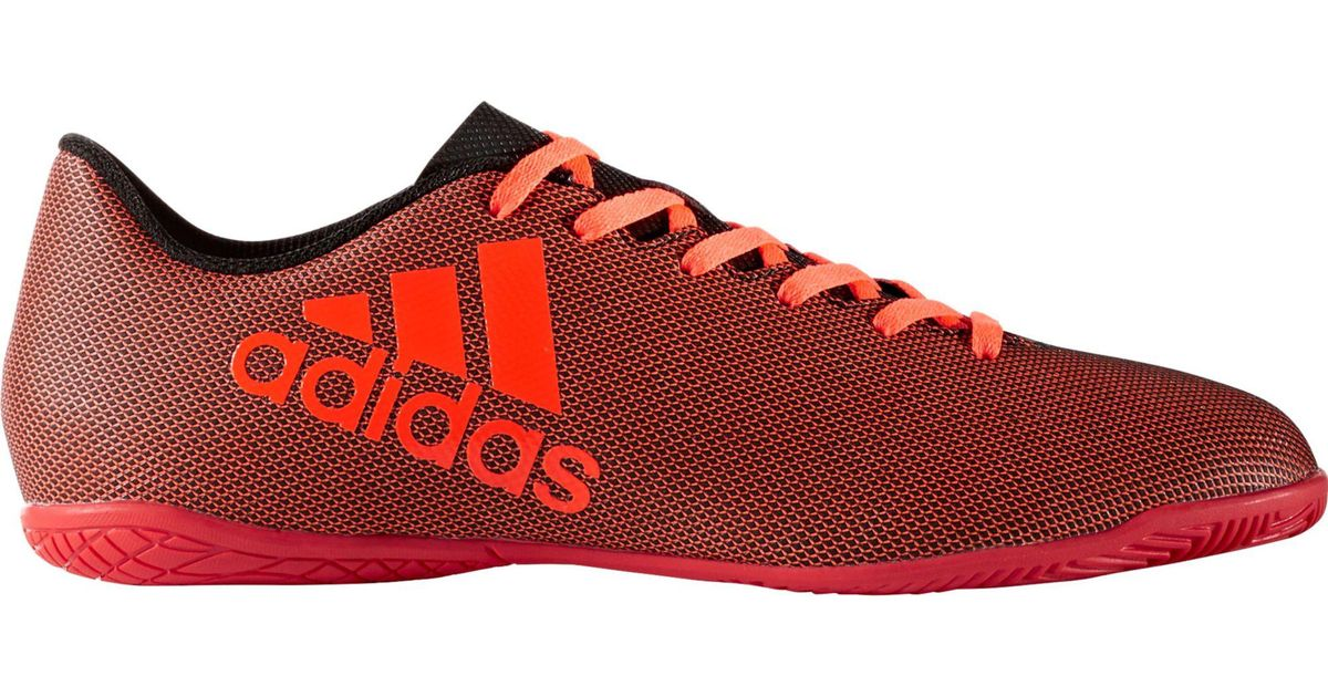 f2c390c92fdc ... usa lyst adidas x 17.4 indoor soccer shoes in red for men 4a436 5be91