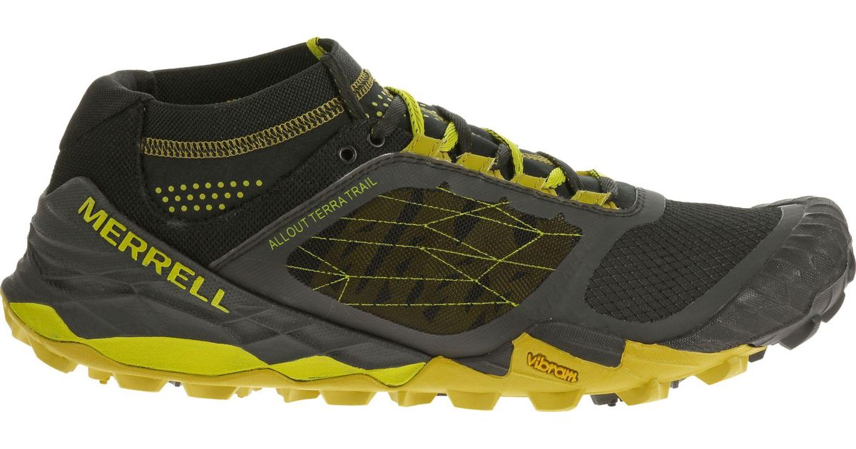 Lyst - Merrell All Out Terra Trail Running Shoes for Men f9db13e90b92
