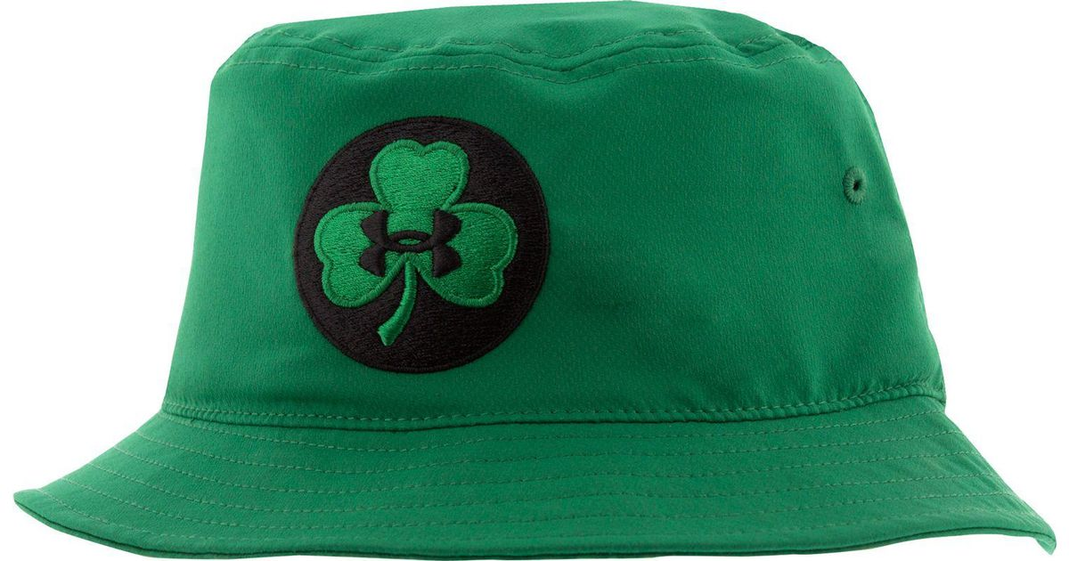 93d3a4d8189 Lyst - Under Armour Shamrock Bucket Hat in Green for Men