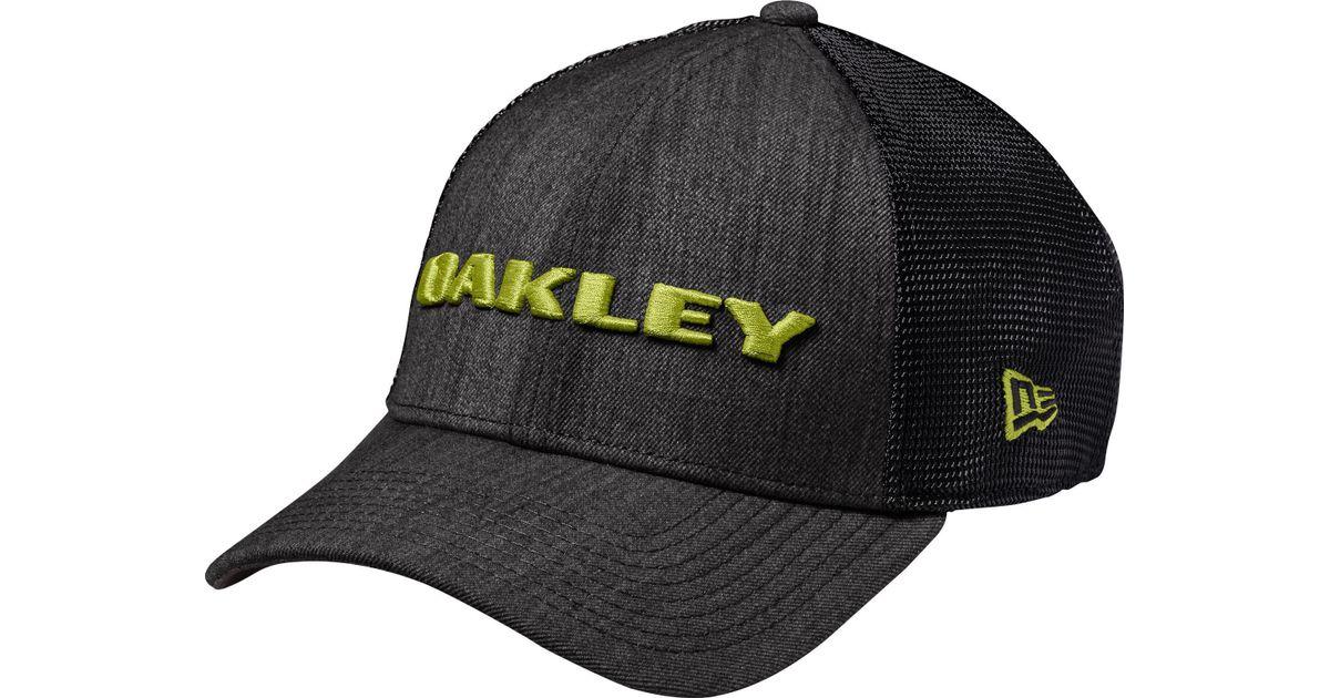 eaa580ddc61 Lyst - Oakley Heather New Era Snap-back Golf Hat for Men