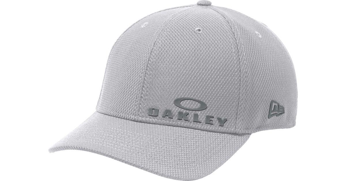 Lyst - Oakley Diamond New Era Golf Hat in Gray for Men 1a533528e04