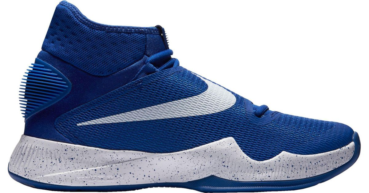 sports shoes 22c6b cb426 Lyst - Nike Zoom Hyperrev 2016 Basketball Shoes in Blue for Men
