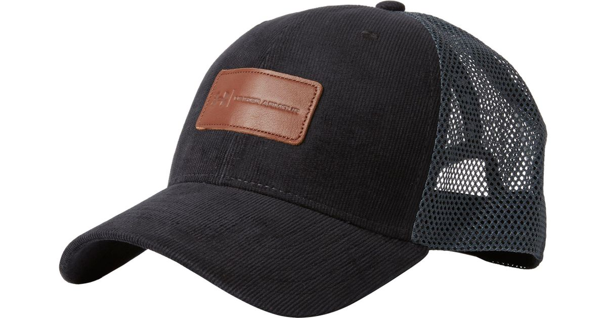 Lyst - Under Armour Odp Trucker Hat in Black for Men 7dc4580c652