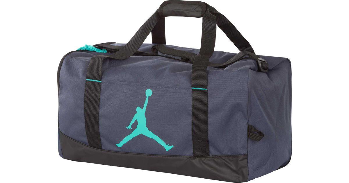 finest selection 215bb e748f Lyst - Nike Nike Air Jumpman Trainer Medium Duffle Bag in Blue for Men