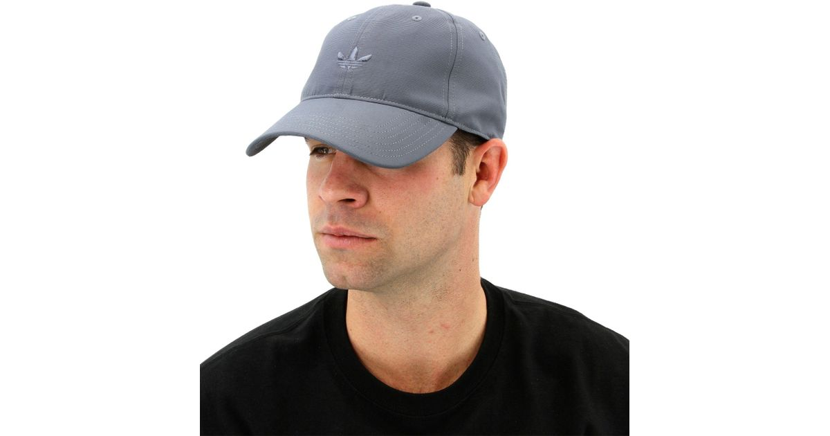 5a484cf4b2c Lyst - adidas Originals Relaxed Modern Cap in Gray for Men