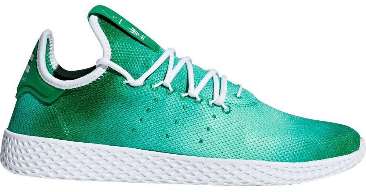 Adidas Green Originals Pharrell Williams Tennis Hu Holi Shoes for men