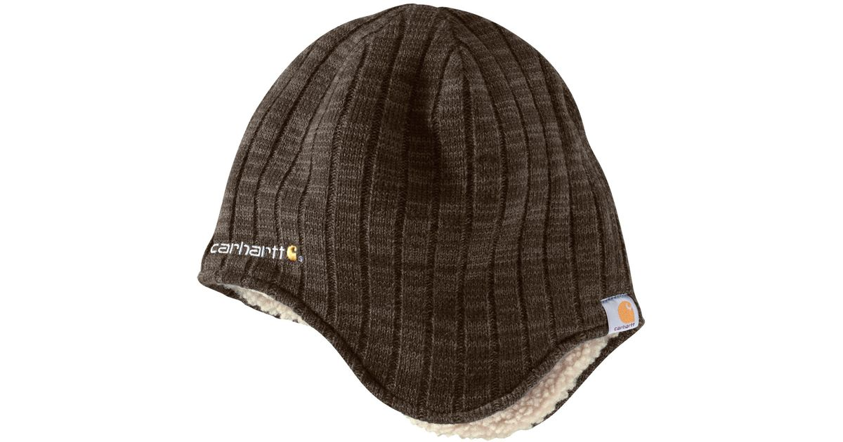Lyst - Carhartt Akron Hat in Brown for Men d61950a70ee