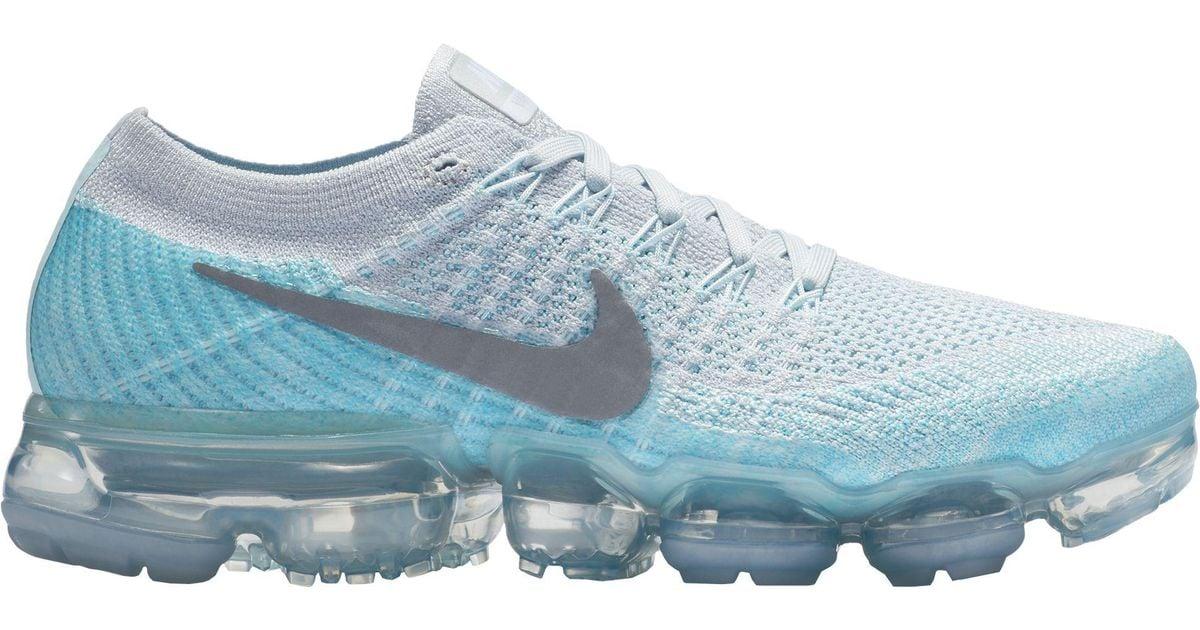 1e69c33b7c6 Lyst - Nike Air Vapormax Flyknit Running Shoes in Blue