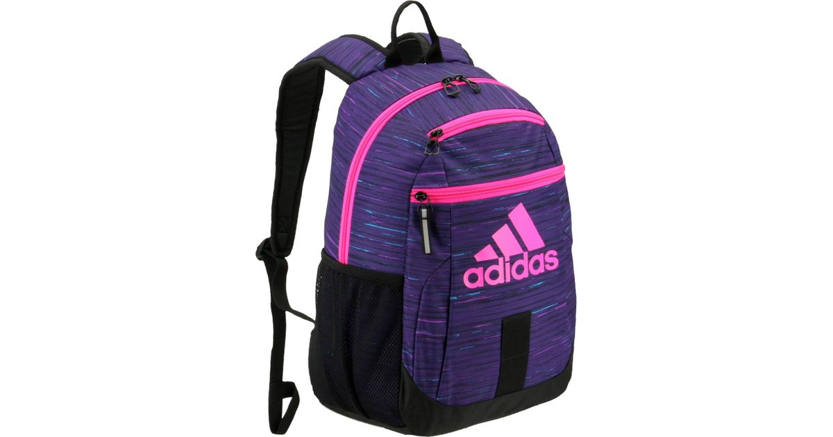 7ad3234cb5cc Lyst - adidas Youth Young Creator Backpack in Purple