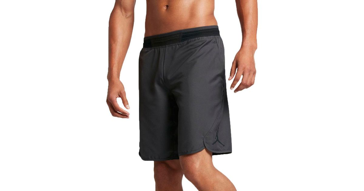d6e840cfd0a Nike Mid-flight Victory Basketball Shorts in Black for Men - Lyst
