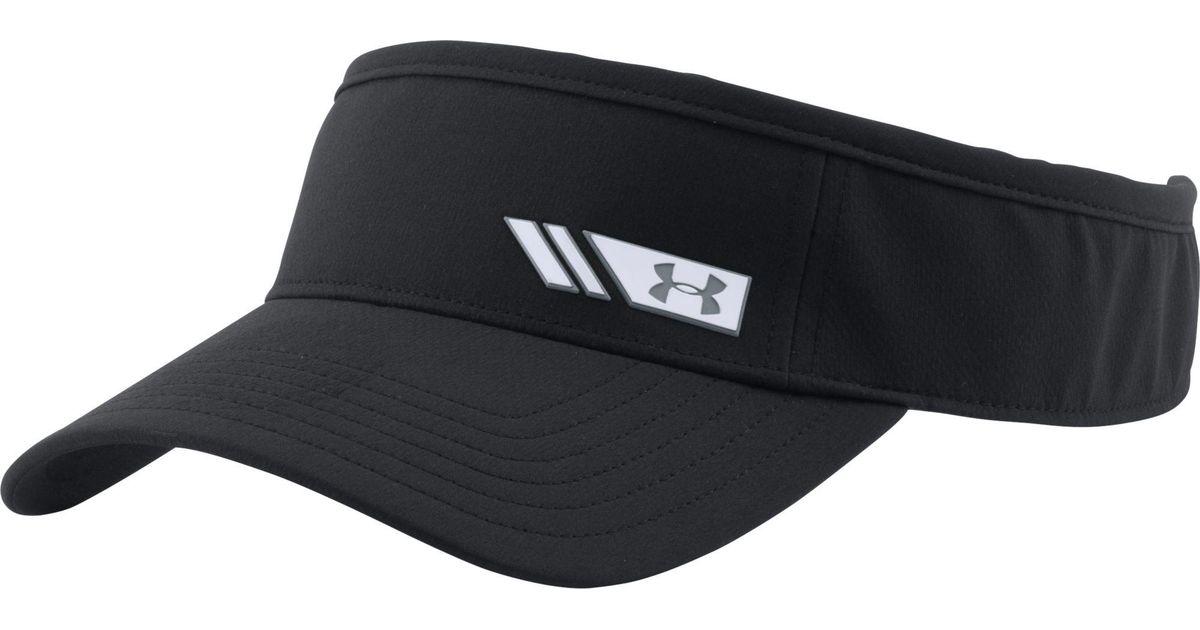 Lyst - Under Armour Renegade Golf Visor in Black for Men 6b905f61238