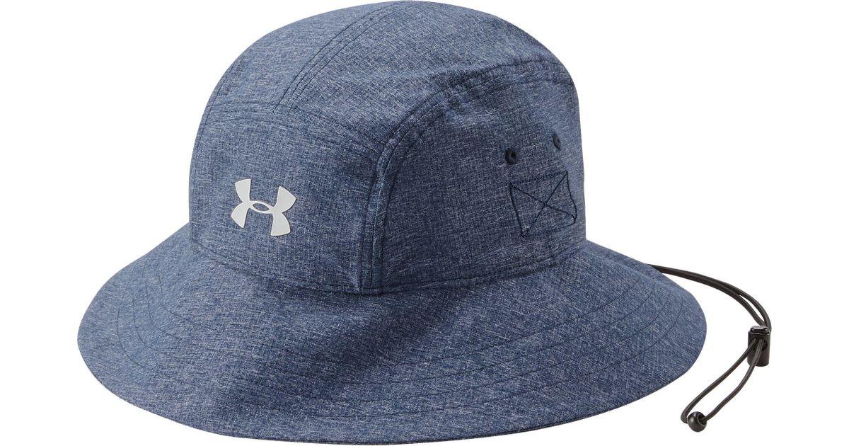 327411412 Under Armour Blue Armourvent Warrior 2.0 Bucket Hat for men