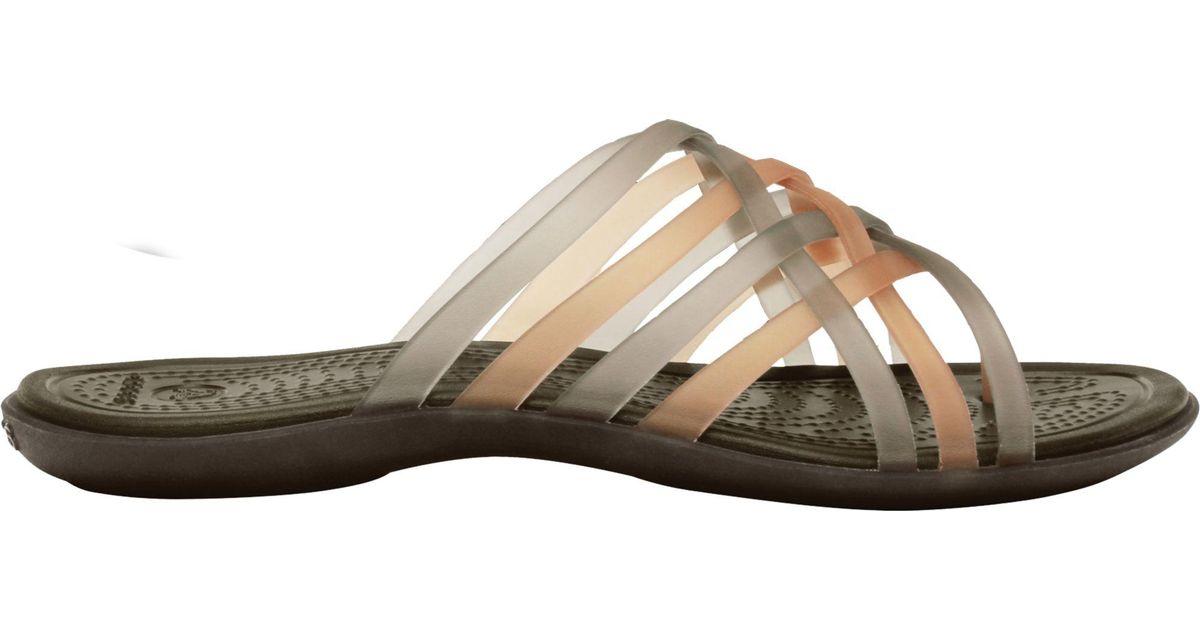 82a484584922 Lyst - Crocs™ Huarache Flip Flops