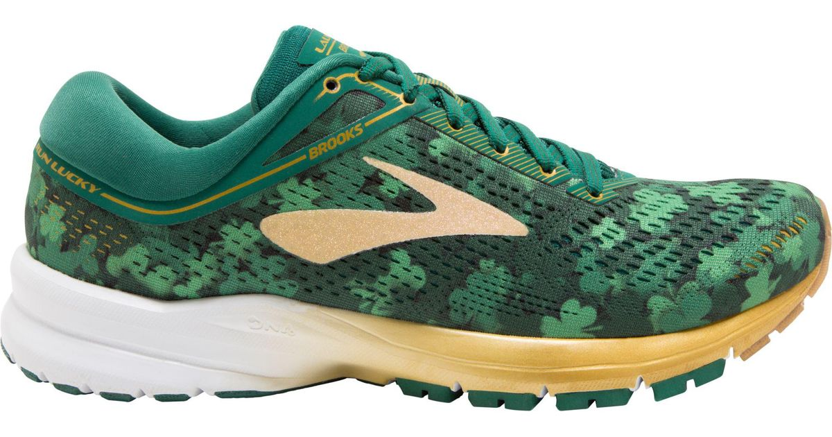 9d0595dca8353 Lyst - Brooks Launch 5 Running Shoe in Green for Men