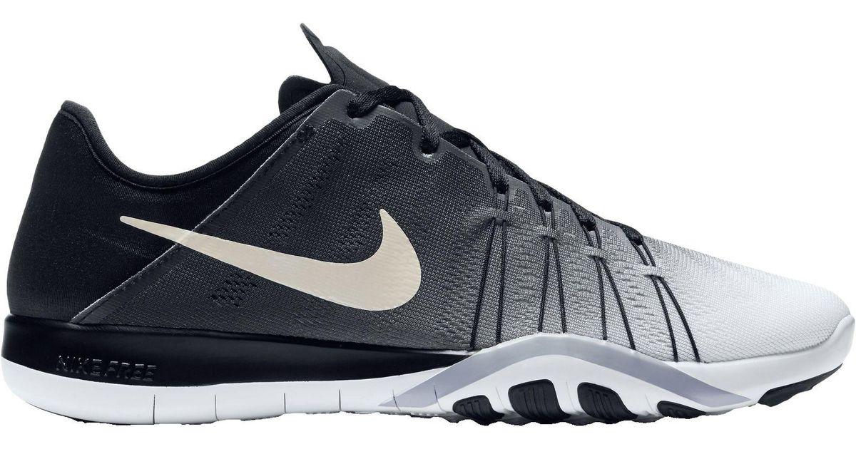 sale retailer 1fcf5 c8da7 Lyst - Nike Free Tr 6 Spectrum Training Shoes in Black for M
