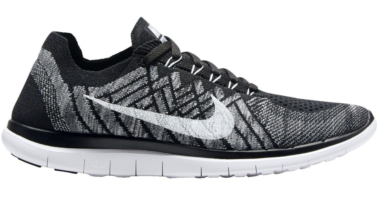 9e84cebe25eac ... cheap lyst nike free 4.0 flyknit running shoes in black for men 916a8  dfa3c