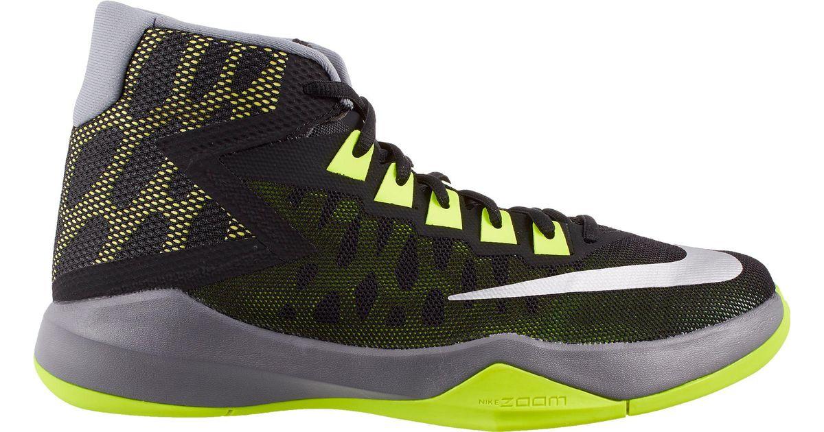 classic fit 2a337 f24f0 Menn Lyst Devosion Basketball Nike I Zoom For Sko Svart xxn8rCR46