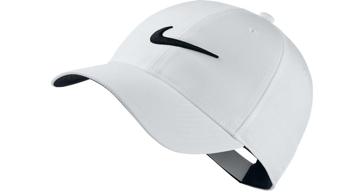 2bad5236f7689 Nike Legacy91 Tech Golf Hat in White for Men - Lyst